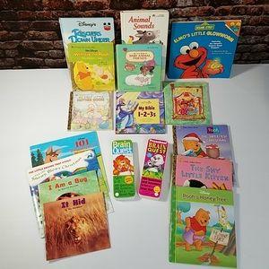 Brain Quest & Lots of Preschooler Books 3-6T 17Pcs